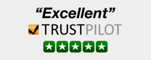 excellent feedback on trustpilot